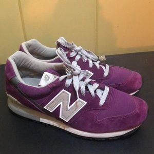 PURPLE Suede New Balance 996 Made in the USA